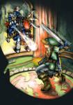 [Legend of Zelda] Link VS Phantom Ganon (OoT) by MajorasMasks