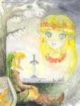 [Legend of Zelda] Lost Woods (ALttP) | GIFTART by MajorasMasks
