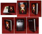 [Death Note] Yagami Light terracotta box by MajorasMasks