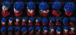 [Super Smash Bros.][Fire Emblem] Ike bust |GIFTART by MajorasMasks