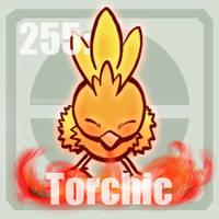 [Pokemon] 255 Torchic by MajorasMasks