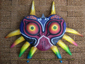 [Legend of Zelda] Majora's Mask OOAK | GIFTART by MajorasMasks