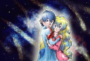 [Gurren Lagann] Nia x Simon: Cosmic Love | GIFTART