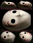 [Naruto] Sai's Root ANBU mask | COMMISSION by MajorasMasks