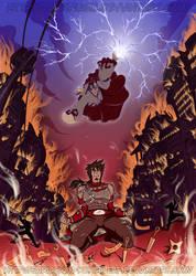 [Naruto] Ivel Shadow VS Vasil Uchiha (FCs) | COMM.