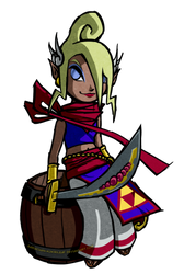[Legend of Zelda] Tetra: Pirate Princess (TWW)