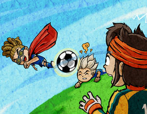 Inazuma Eleven in TWW style | POINTS COMMISSION by MajorasMasks