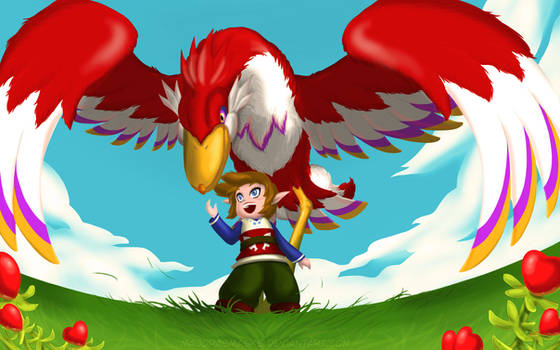 [Legend of Zelda] Fated Encounter in the Sky (SS) by MajorasMasks