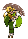[Legend of Zelda] Link x Verios (FC)   POINTS COMM by MajorasMasks