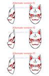 [Naruto] Custom Kakashi ANBU mask alt. v. | COMM. by MajorasMasks