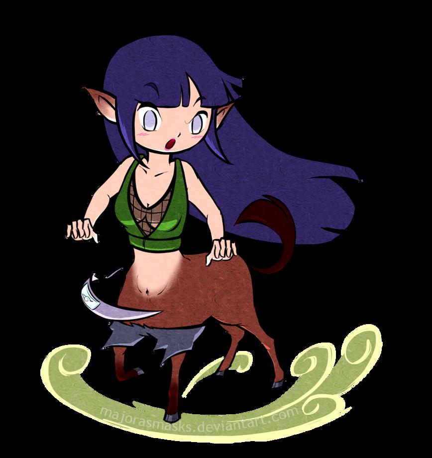 Hand Jive (centauress Hinata) | POINTS COMMISSION by MajorasMasks