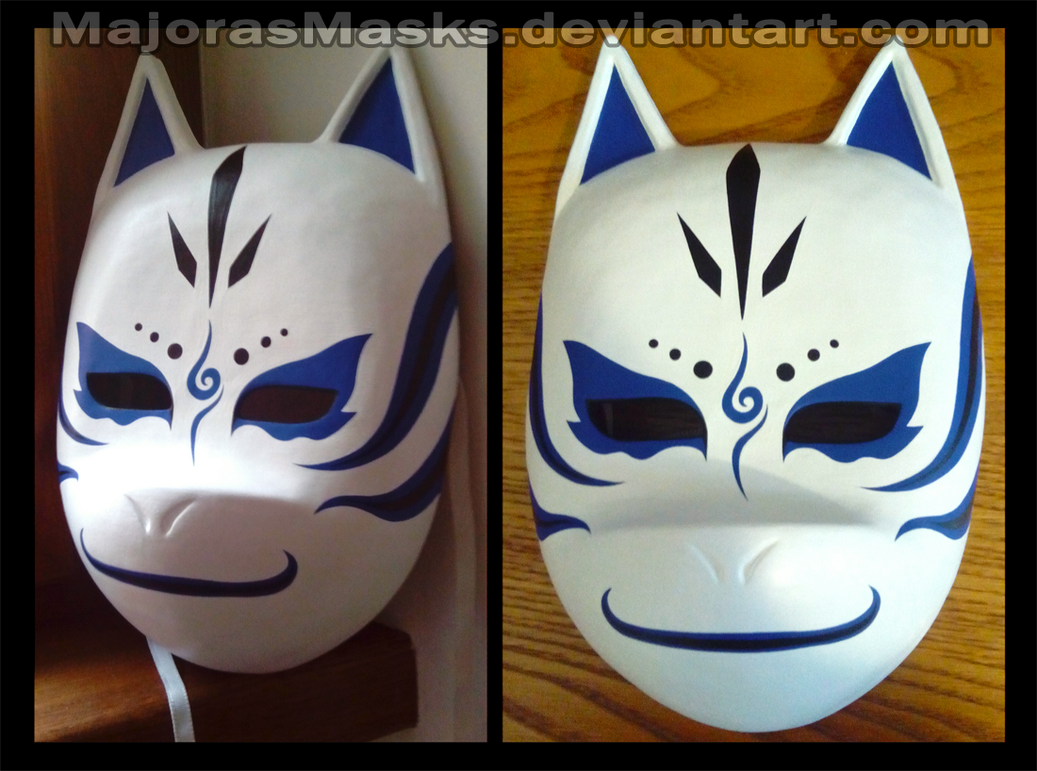 Custom Kakashi ANBU mask (blue ver.) | COMMISSION by ...