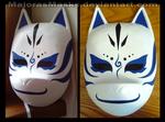 [Naruto] Kakashi ANBU mask (blue ver.) |COMMISSION by MajorasMasks