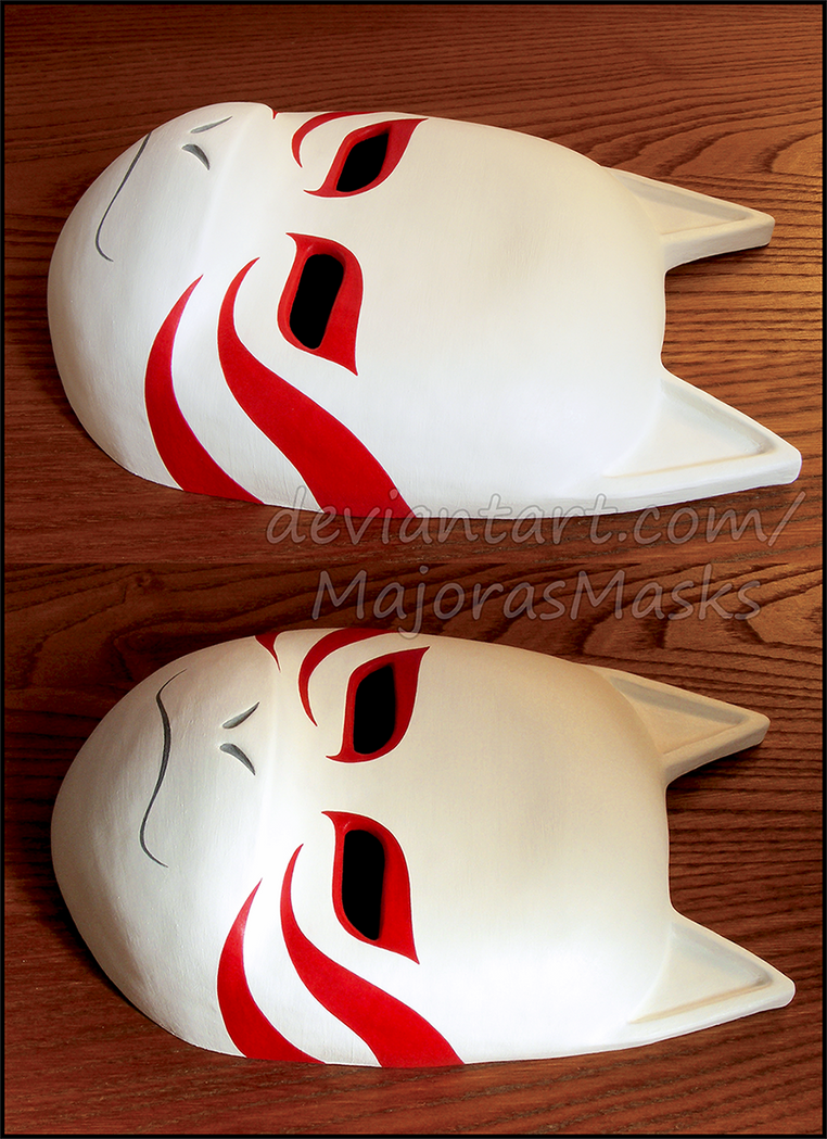 [Naruto]Shadow of the ANBU Black Ops mask|COMMISS. by MajorasMasks