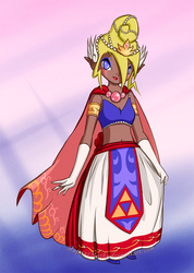 Tetra: Queen of New Hyrule by MajorasMasks
