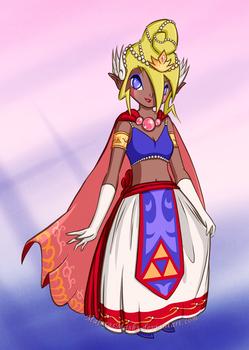[Legend of Zelda] Tetra: Queen of New Hyrule