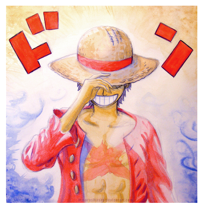 DON! (Luffy from One Piece) | GIFTART by MajorasMasks