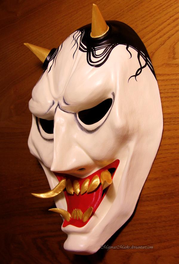 Hannya's mask (special version) | COMMISSION by MajorasMasks