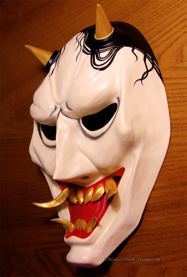 Hannya's mask (special version) | COMMISSION
