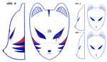Original mask (sketches) |  COMMISSION by MajorasMasks