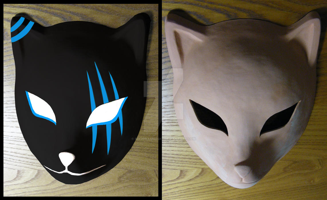 custom Itachi's ANBU mask (WIP) | COMMISSION by ...