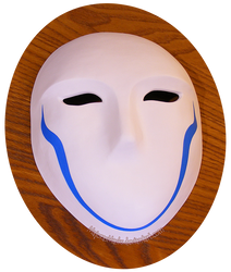 Zwei's mask (Requiem for the Phantom)   COMMISSION