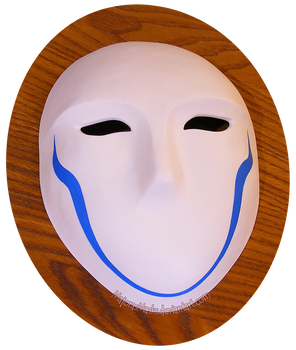 Zwei's mask (Requiem for the Phantom) | COMMISSION