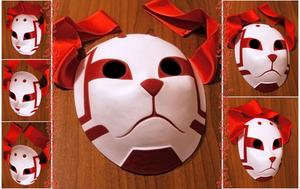 custom Sai's Root ANBU mask | COMMISSION