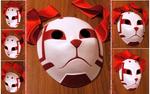 custom Sai's Root ANBU mask | COMMISSION by MajorasMasks