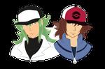 [Pokemon] love:duality (NxMakoto) | GIFTART by MajorasMasks