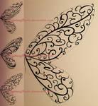 Mehndi design | COMMISSION (sketches) by MajorasMasks