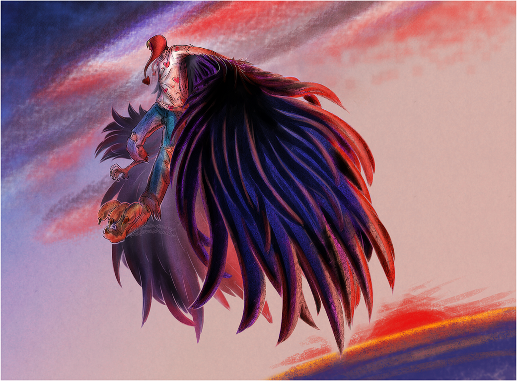 [One Piece] Wings of Freedom (harpy!Corazon)