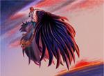 [One Piece] Wings of Freedom (harpy!Corazon) by MajorasMasks
