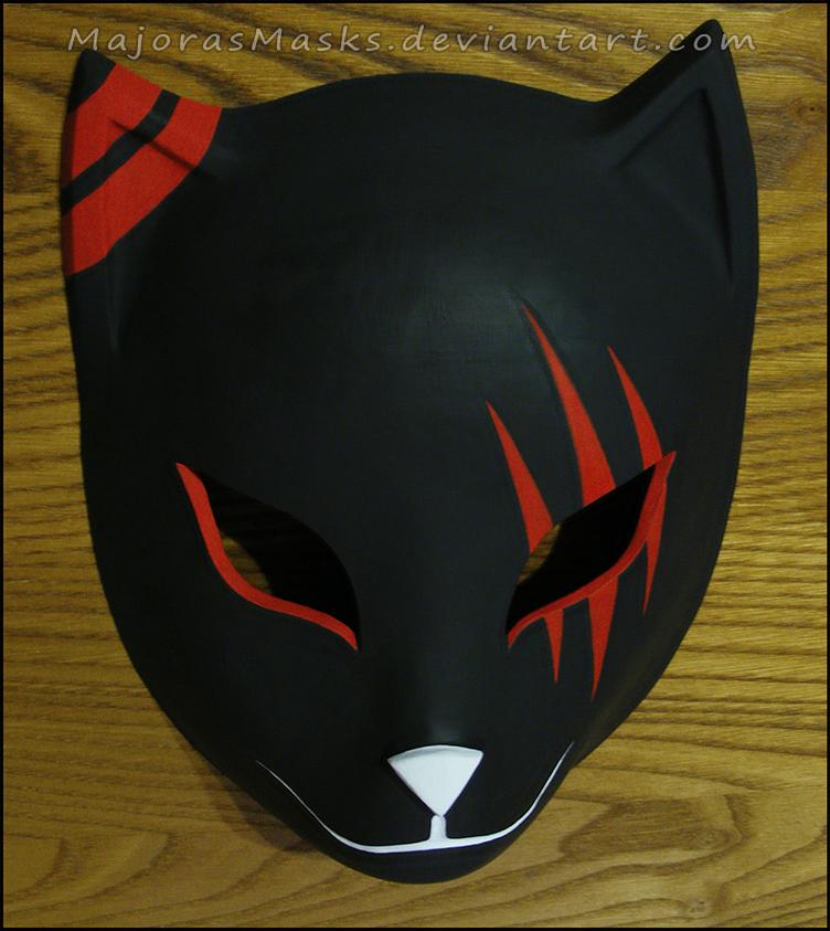 custom Itachi's ANBU mask (red ver.) | COMMISSION