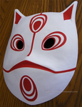 Menma's mask (Naruto - Road to Ninja) | COMMISSION by MajorasMasks