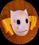 Gin's mask - Hotarubi no Mori e | COMMISSION by MajorasMasks