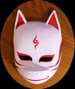 Custom Kakashi ANBU mask (alter. v.3) | COMMISSION