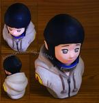 [Naruto] Hyuuga Hinata bust (new photos!)|FOR SALE by MajorasMasks