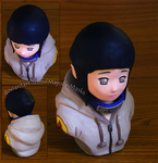 [Naruto] Hyuuga Hinata bust (new photos!)|FOR SALE by MajorasMasks