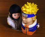[Naruto] NaruHina busts (new photos!) | ON SALE by MajorasMasks