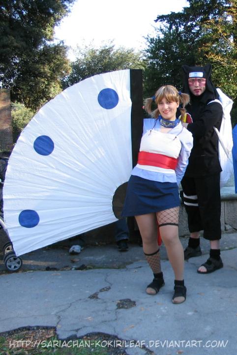 Temari and Kankurou cosplay 06 by MajorasMasks