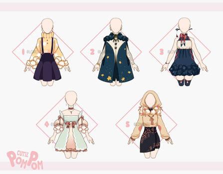 [CLOSED] Cutie Pom Pom : clothes adoptable