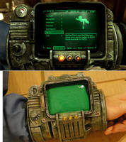 Pipboy 3000 build comparison by Hypercats