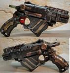 Nerf Proton Steampunk sidearm