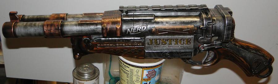 Barrel Break JUSTICE WIP 01 by Hypercats