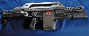 Nerf Stampede Pulse Rifle - New LEDS
