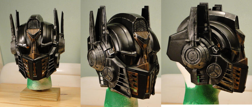 Steampunk Optimus Prime Voice Changer Helmet by Hypercats