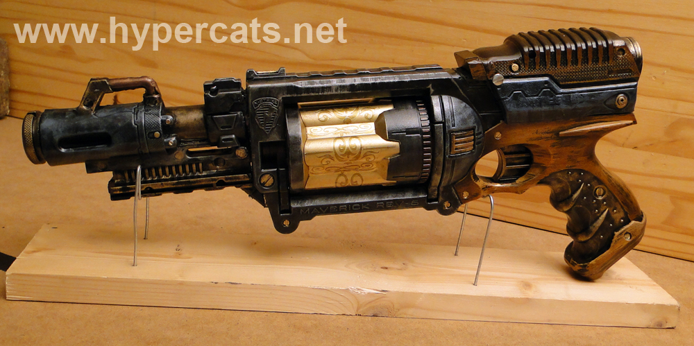 Custom Steampunk Maverick1 - Cosmetic mods by Hypercats
