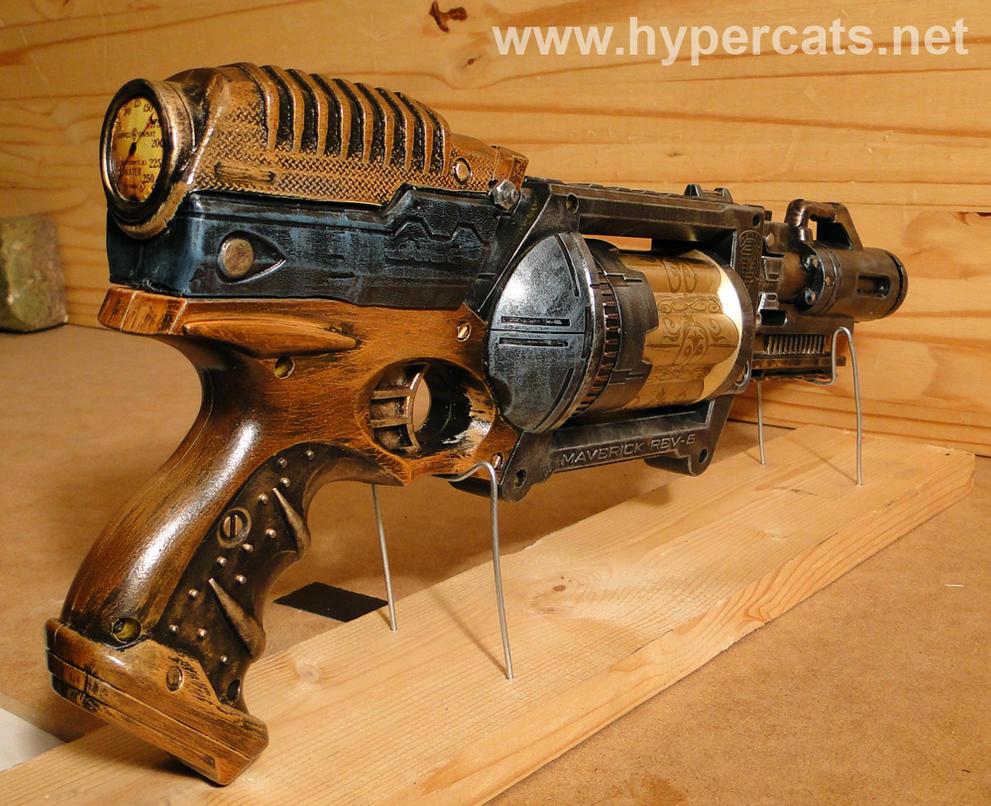 Custom Steampunk Maverick 2 - Cosmetic Mods by Hypercats
