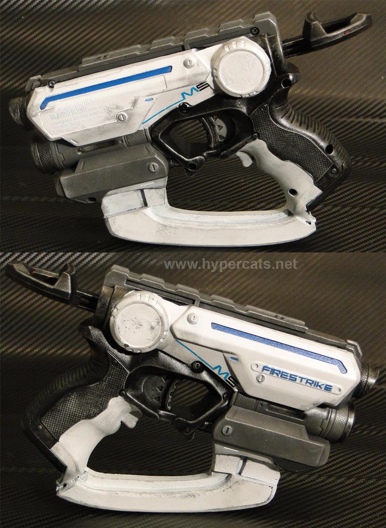 Nerf Firestrike - Mass Effect Phalanx M5 style! by Hypercats